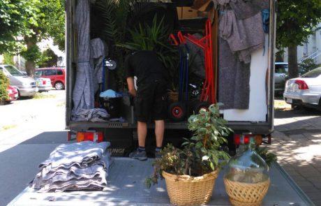 Thietke Umzüge - Umzug LKW beladen