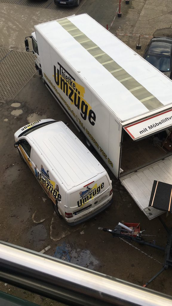 Thietke Umzuege - Fahrzeuge